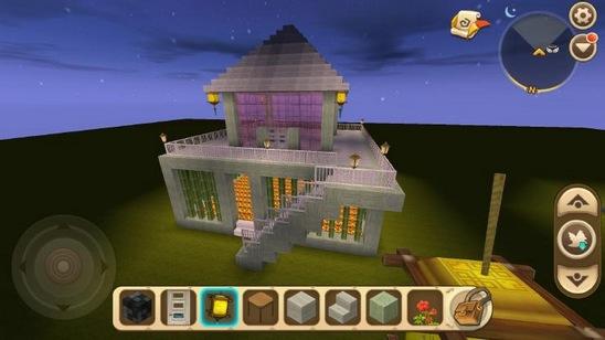《迷你世界》精致小别墅怎么造?