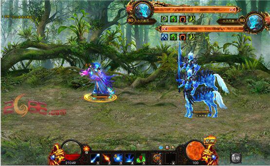 元素森林趣味玩法 《神曲2》攻夺多人副本图片