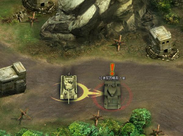 坦克营游戏图片欣赏