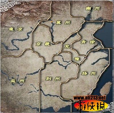 《三国志英杰传》地图介绍图片