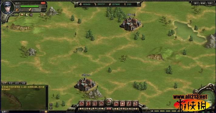 二战战棋类网页游戏_二战游戏截图欣赏