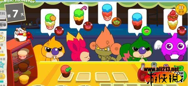 各位麦咭小怪兽玩家们,这次给大家介绍的是麦咭小怪兽粉粉甜品吧。大家赶快一起来看吧。 麦咭小怪兽粉粉甜品吧介绍: 绿色有益的新小游戏粉粉甜品吧,虽然只是简单的做做蛋糕,卖给指定的小怪兽,但却能培养孩子们的耐心,锻炼孩子们的逻辑思维能力,动手操作能力,也能让孩子们了解为人处世的策略。这是一个非常有意义的小游戏。
