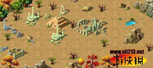 《幻境online》全新风格地图探秘-失落废墟