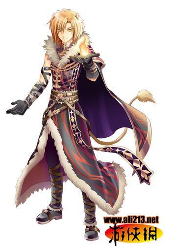 旗下知名小说「暗骑士」移植到《圣痕幻想》游戏世界中的首批小说人物
