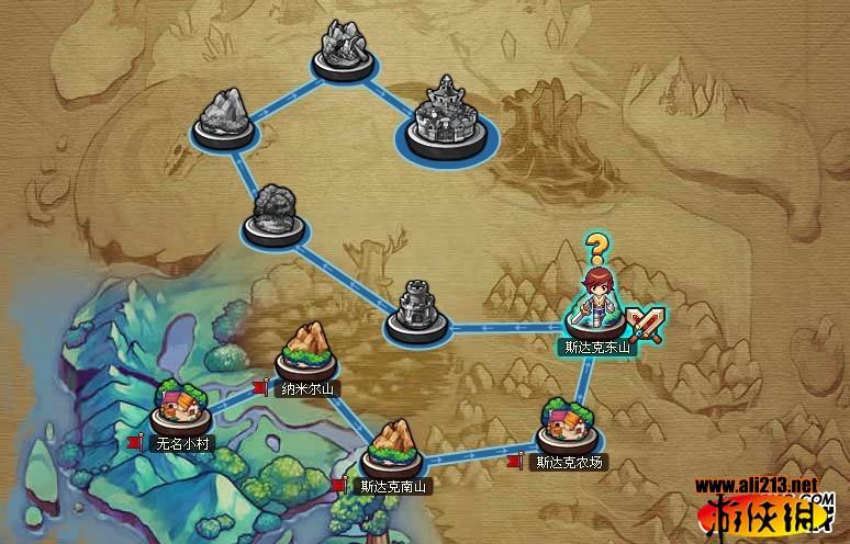 游戏关卡地图3d模型
