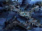 《赤月传说2》天空之城原画