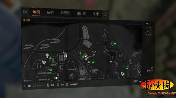 游戏资讯_消逝的光芒橙色砍刀KOREK MACHETE蓝图位置一览_游侠网