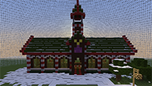 《我的世界》圣诞小屋建造图文教程