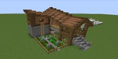 《我的世界》实用房子生存向构造分享