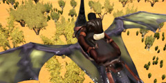 《方舟:生存进化》仙境图进沙漠方法