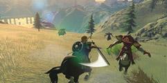 《塞尔达传说:荒野之息》大师模式速杀黄金人马方法视频攻略