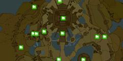 《塞尔达传说:荒野之息》城堡全二十三个呀哈哈分布位置