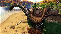 《方舟:生存进化》极速搭建保险柜炮楼及八角楼封顶演示