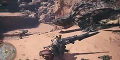 《怪物猎人世界》武器铳新动作展示视频