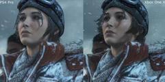 《古墓丽影:崛起》三大平台画面对比视频