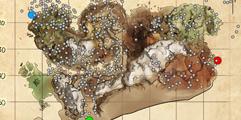 《方舟:生存进化》仙境传说地图全资源点分布图示详解