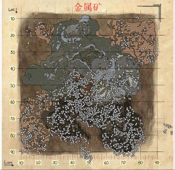恐龙之乡在哪_方舟生存进化DLC畸变全资源分布图一览 畸变资源都在哪(2)_游侠网