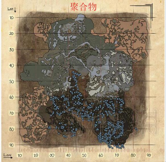 永恒之剑2_方舟生存进化DLC畸变全资源分布图一览 畸变资源都在哪(2)_游侠网