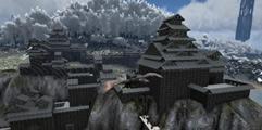 《方舟:生存进化》霓虹天守城堡整体外观搭建图分享