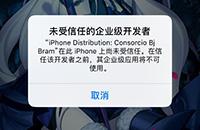 《旅行青蛙》IOS汉化版未受信任的企业级开发者解决方法