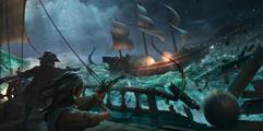 《盗贼之海》大船快速转弯技巧演示及操作方法 大船怎么转弯?