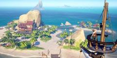 《盗贼之海》前期玩法教学视频 成为新一代海贼王的开端