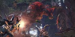 《怪物猎人世界》恐暴龙配信任务大锤单刷视频