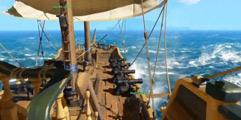 《盗贼之海》船身设施及开船方法技巧详解 怎么开船?