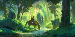 《塞尔达传说:荒野之息》大师模式开局击杀初始台地人马流程视频