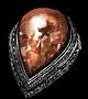 红泪石戒指