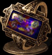 斑方石戒指