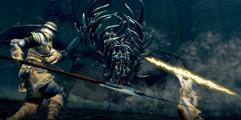 《黑暗之魂重制版》1级击杀葛温方法演示视频 葛温怎么打?