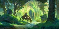 《塞尔达传说:荒野之息》一键无脑站撸速杀人马视频教学