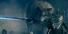 《黑暗之魂重制版》巨狼怎么打?巨狼希夫打法演示