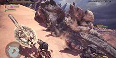 《怪物猎人世界》贝希摩斯盾斧单刷打法视频 盾斧怎么单刷贝希摩斯?