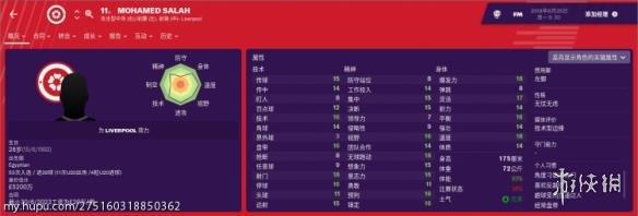 足球经理2019红军球员一览 FM2019红军球员数据介绍