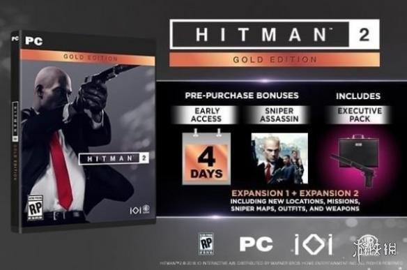 杀手2预购奖励介绍 杀手2黄金版与普通版有什么区别