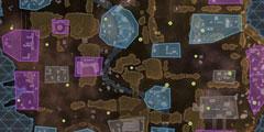 《巅峰传说》地图哪里肥 地图资源分布图一览