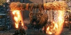 《只狼影逝二度》火牛能下落忍杀吗 火牛下落忍杀测试