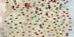 《全面战争三国》全资源点位置一览 各资源位置介绍