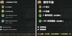 《全面战争三国》募兵特性介绍 募兵特性效果一览