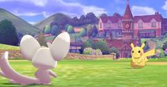 《宝可梦剑盾》极巨化团战及诱敌遇敌演示视频 游戏内容介绍