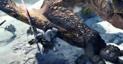《怪物猎人世界》冰原轰龙狩猎演示视频分享 轰龙怎么样?
