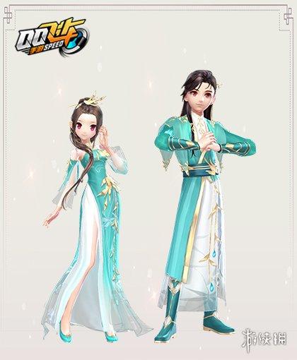 《QQ飞车手游》玉染竹林套装获得方法 玉染竹林套装价格点券钻石