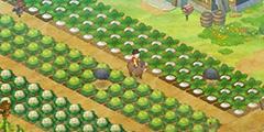 《哆啦A梦牧场物语》铜和铁矿石效益测试视频 哪层矿石效益高