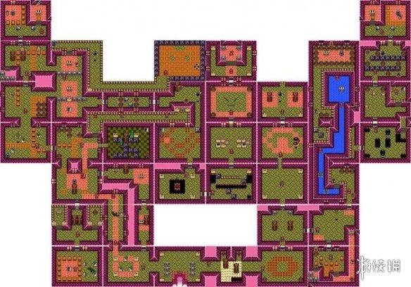塞尔达梦见岛脸孔神殿迷宫通关攻略 脸孔神殿宝箱收集位置
