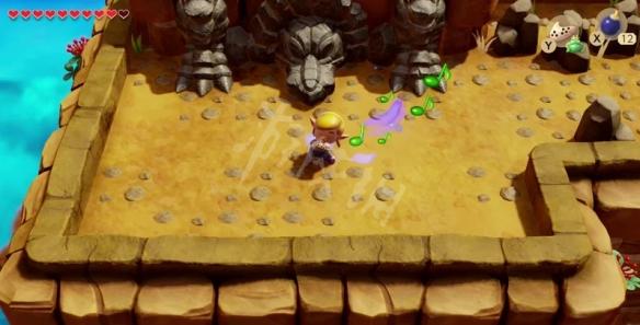 塞尔达传说梦见岛乌龟岩怎么去 织梦岛乌龟岩前往方法介绍