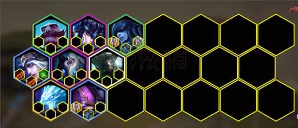 《云頂之弈》元素極地暗影游俠陣容配置一覽 元素極地暗影游俠陣容怎么玩?