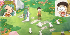 《哆啦A梦牧场物语》夏天在哪里钓鱼?夏天钓鱼点推荐视频