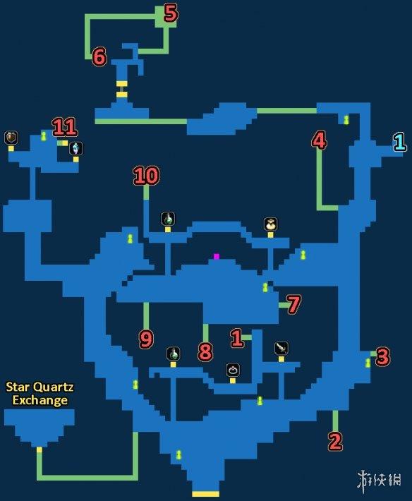 最终幻想勇气启示录马尔洛隐蔽村宝箱位置一览FFBE马尔洛隐蔽村地图